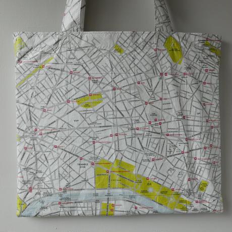 World City Map Bag  《PARIS》
