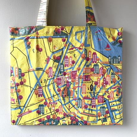 World City Map Bag  《AMSTERDAM / illustration ver.》