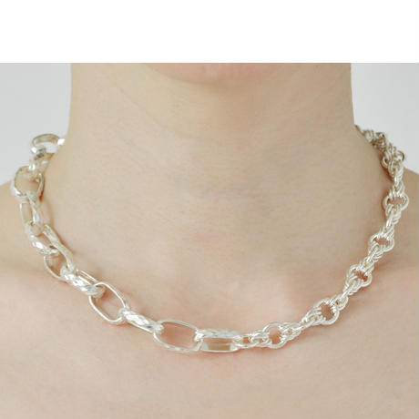 Screw Chain Necklace NC-04-BR-S