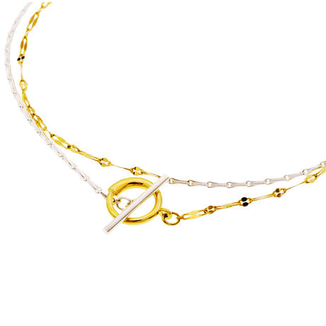 Needle Ice Chain Necklace  NC-14-MIX