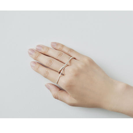 Double Wave Ring  R-01-S
