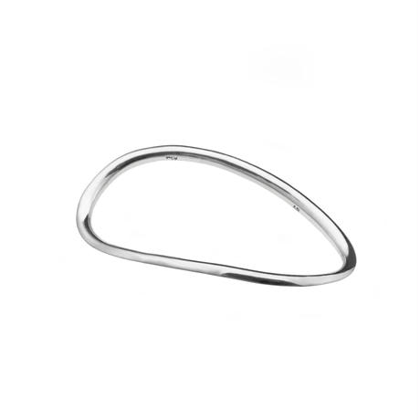 Single Wave Ring L   R-03-S