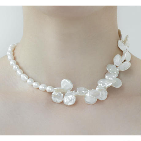 Keshi Cleo Day Necklace  NC-21-P1