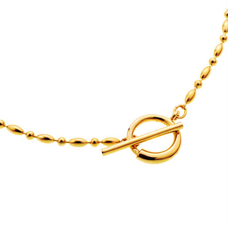 Water Chain Necklace NC-10-YG