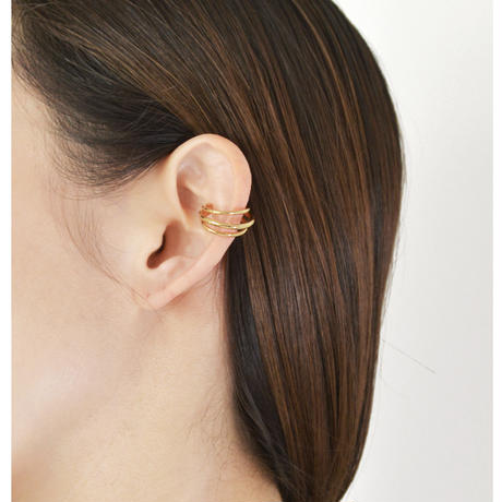 Large Dwarf Ear Cuff EC-01M-YG