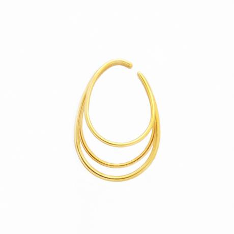 Medium Orbit Ear Cuff EC-03M-YG
