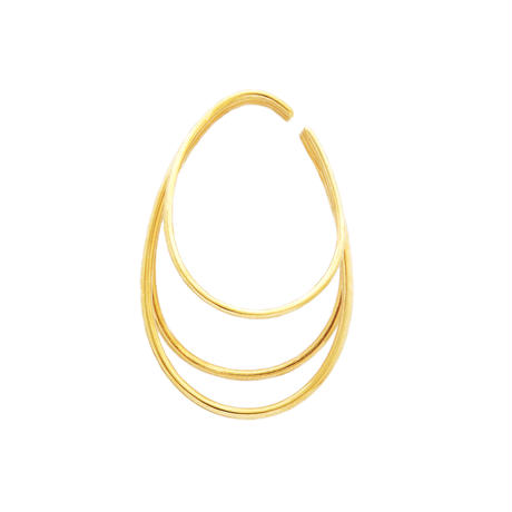 Large Orbit Ear Cuff EC-03L-YG