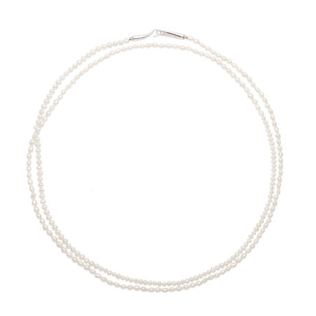 White Pearl Long Necklace NC-P100-WH