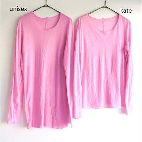 ユニセックス長袖Tシャツ-クルーネック さくら