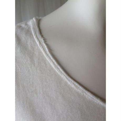 ケイト長袖Tシャツ オゾンホワイト