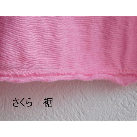 ケイト半袖Tシャツ さくら/マゼンダ