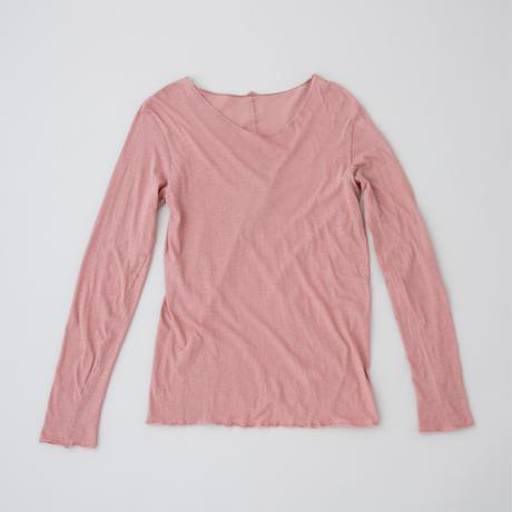 ケイト長袖Tシャツ 灰赤紫(はいあかむらさき)