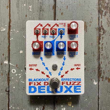 Blackout Effectors  / Fix'd Fuzz Deluxe