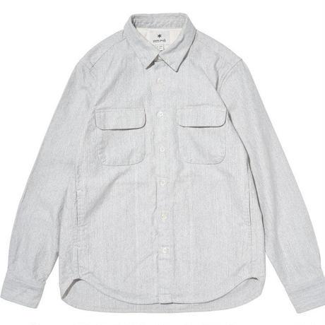 [snow peak] Hand-Dyed Heavy OX Shirt