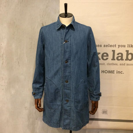 [MANUAL ALPHABET] 6oz DENIM SHIRTCOAT
