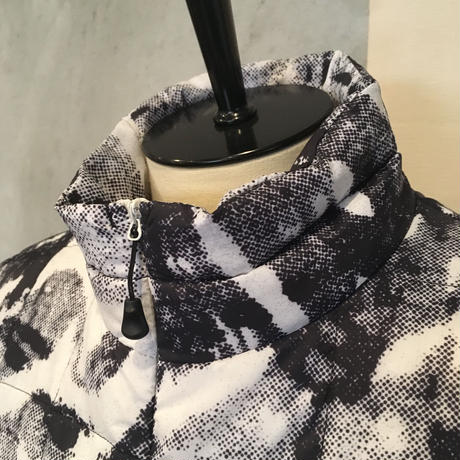 [snow peak] RY Printed Middle Down Jacket