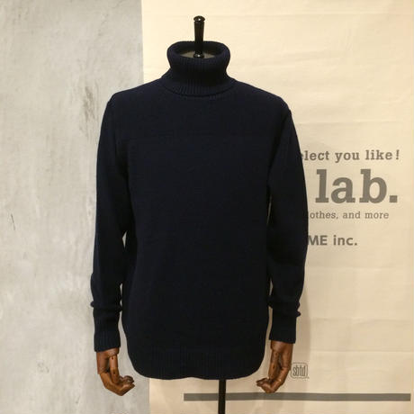 [FUJITO] Turtleneck Knit Sweater