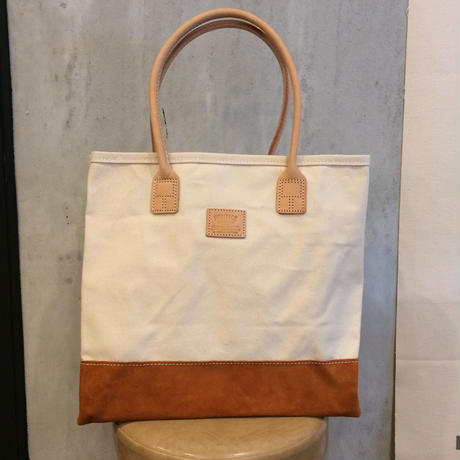 [HERITAGE LEATHER] TOTE BAG