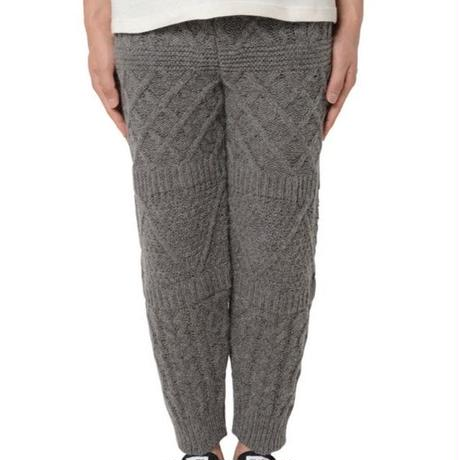 [snow peak] Mixed knit pants