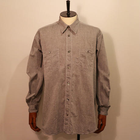 [FUJITO] Big Silhouette Work Shirt