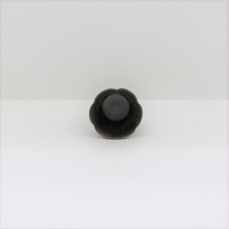 【BONCHIC】スモーキーブラック 手造フラワー入れ子S