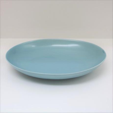 【BONCHIC】レイクグリーン楕円皿L