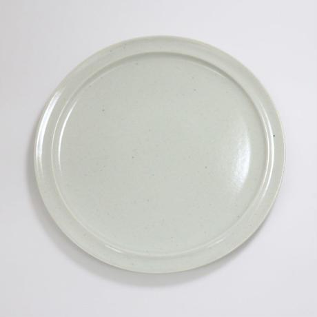 【BONCHIC】スモーキーホワイト リムプレートL