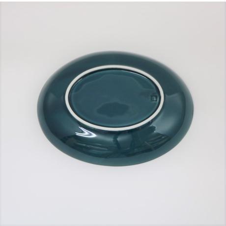 【BONCHIC】フォレストグリーン楕円皿M