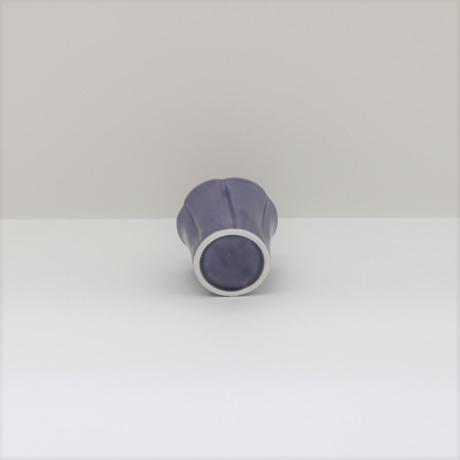 【BONCHIC】スモーキーパープル 手造フラワー入れ子S
