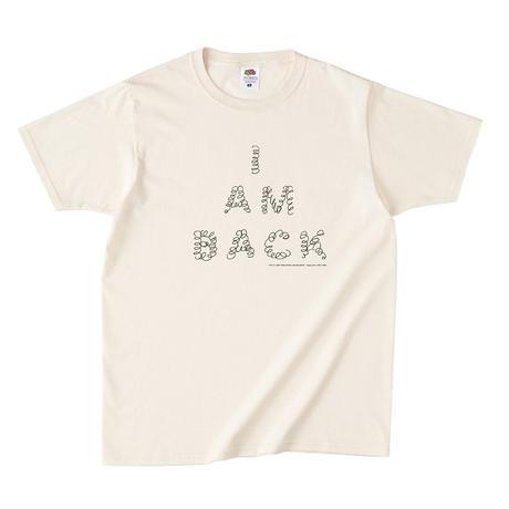 くるくる【I AM BACK】Tシャツ(Natural)