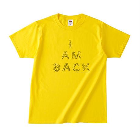 くるくる【I AM BACK】Tシャツ(Yellow)