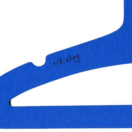 エシカルハンガー キッズ ブルー 5本セット(351610)