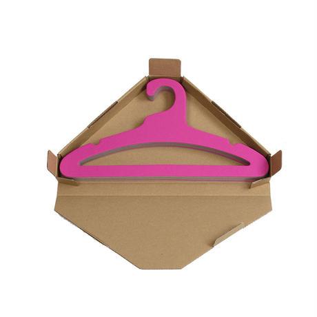 エシカルハンガー キッズ ピンク 5本セット(351608)