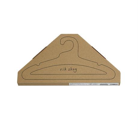 エシカルハンガー キッズ ブラック 5本セット(351606)