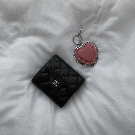 heart key charm