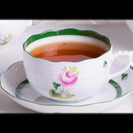 ヘレンドティーセット2名用/ケーキプレート付き/ヘレンドウィーンの薔薇  のコピー