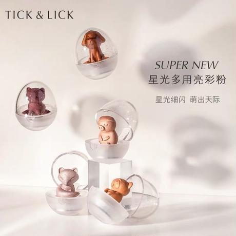 TICK&LICK 動物シリーズ・アイシャドウ&ハイライト(5種セット)