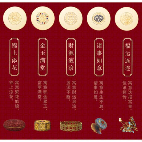 北京故宮 単色アイシャドウ