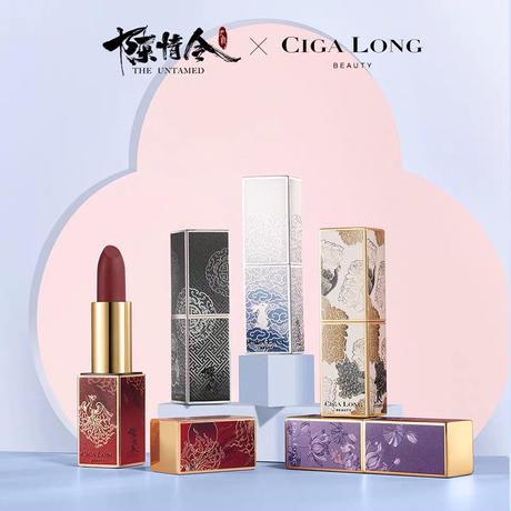 CigaLong × 陳情令 コラボ・リップ(全5種)