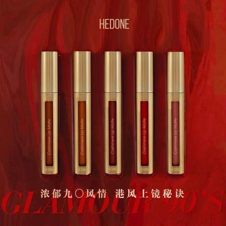 HEDONE 90年代風・マットリップグロス(全5種)