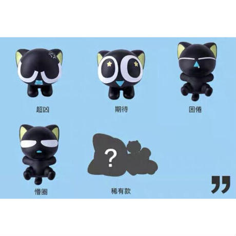 羅小黒戦記 ★ ブラインドボックス(小黒系)10種セット《小黑系列盲盒全10款》