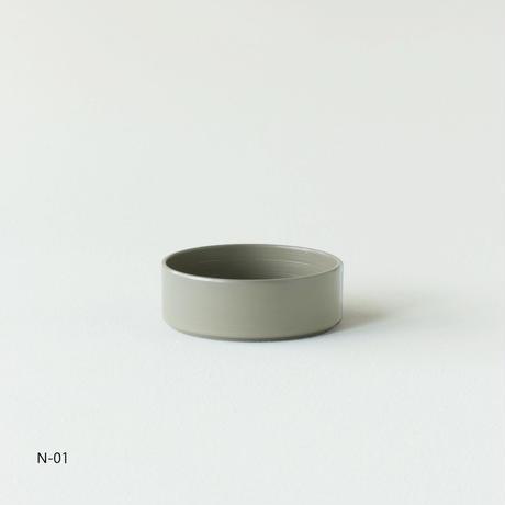 越前硬漆  刷毛目 / トレー丸S R-03
