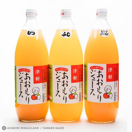 あおもりりんごジュース 1L x 3本