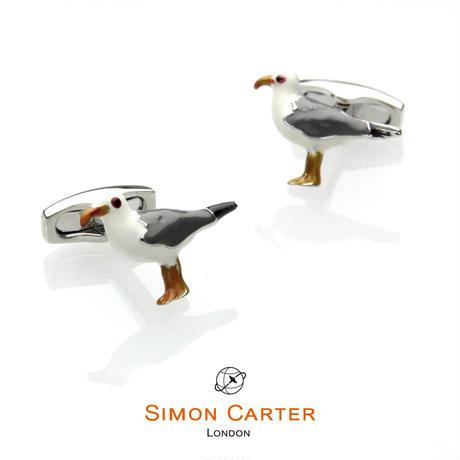 サイモンカーター - 英国製 カフリンクス シーガル 267028