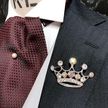 ラペルブローチ1 Big Crown