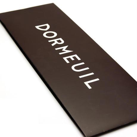 ドーメル - フランス製 フォーマルネクタイ シルバー 慶事用 DM037