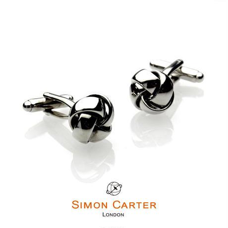 サイモンカーター(ウエストエンド) - 英国製 カフリンクス ノット 267003