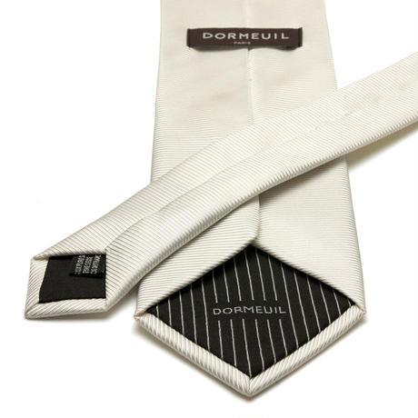 ドーメル - フランス製 フォーマルネクタイ オフホワイト 慶事用 DM060