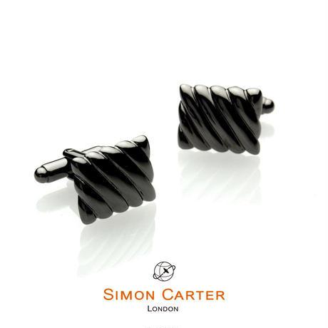 サイモンカーター(ウエストエンド) - 英国製 カフリンクス キルテッド 267004