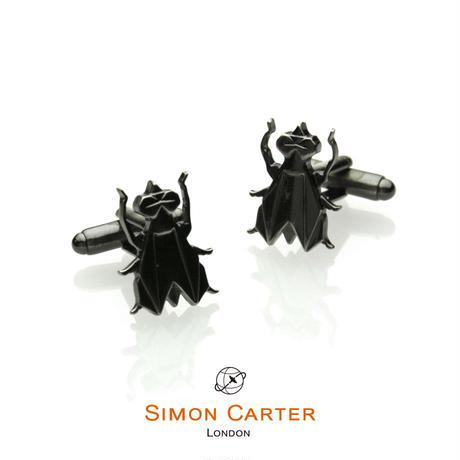 サイモンカーター(ウエストエンド) - 英国製 カフリンクス オリガミ・フライ 267018